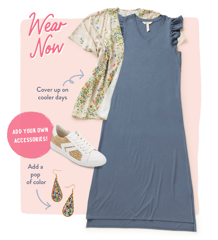 wear now - far away dress